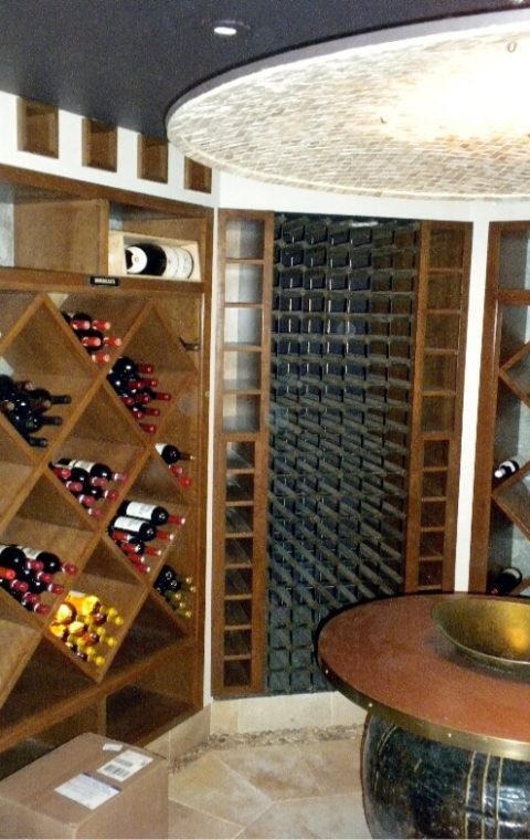 Mixed wine cellars
