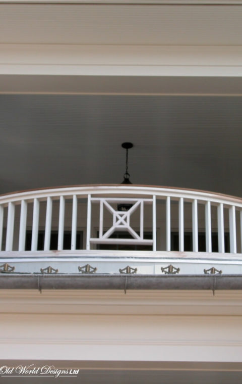 Outdoor balustrade (wood)