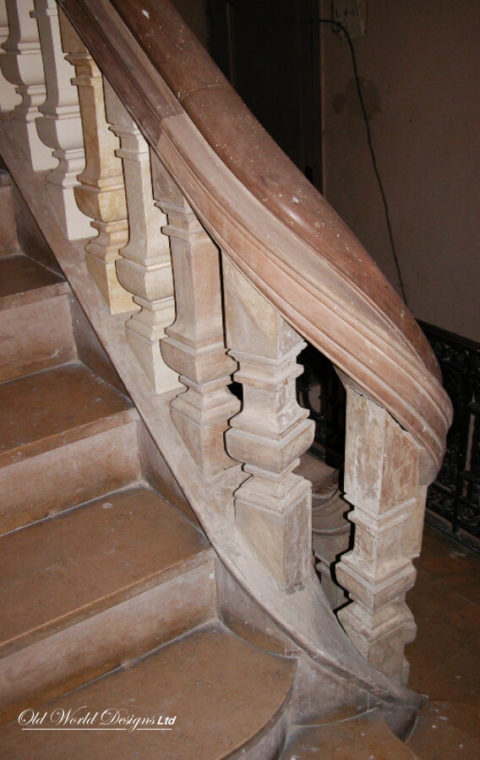 Mixed staircases (wood)