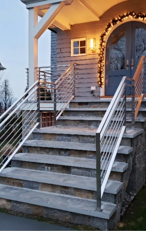 Solid Stainless Steel railing