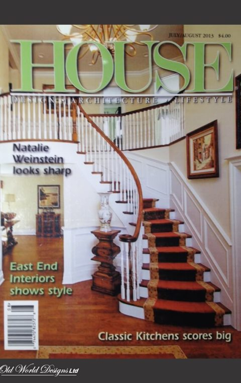 Laurel Hollow Private Residence - Circular staircase (wood)