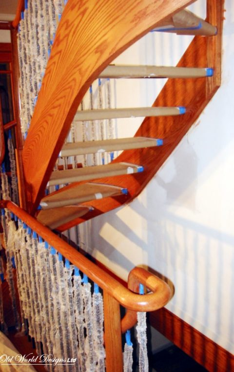 Brooklyn - Circular staircase (wood)