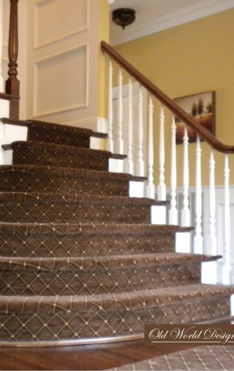 Curved treads (wood)