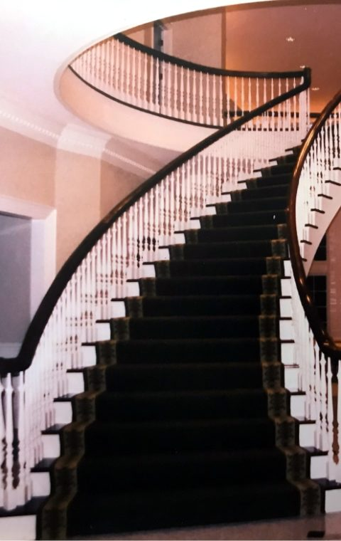 Circular Stairs and Rails (wood)